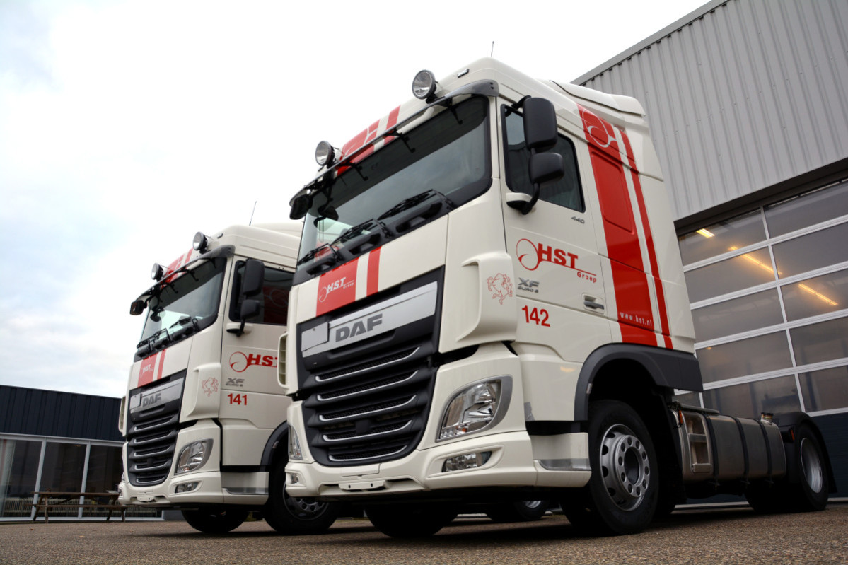 HST Groep expands with 25 new DAF Silent Trucks